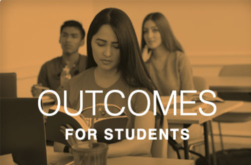 Learn more about Outcomes for Students