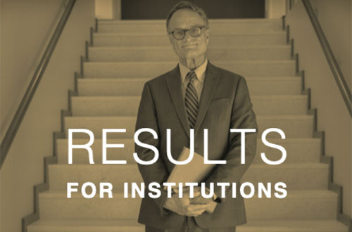 Learn more about Results for Institution