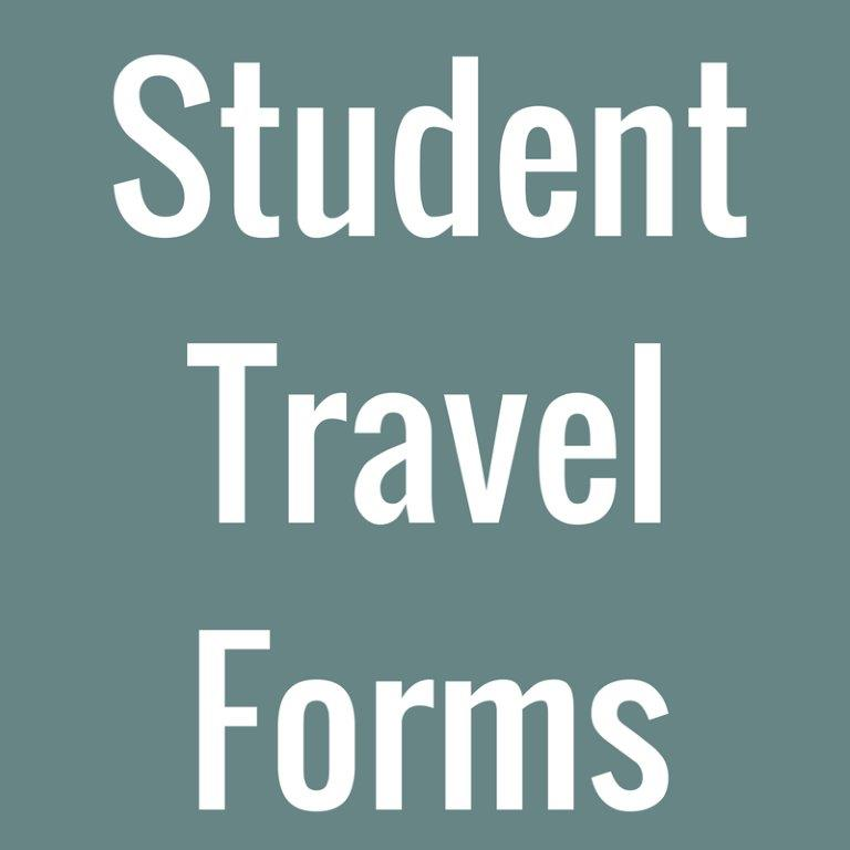 Student Travel Forms