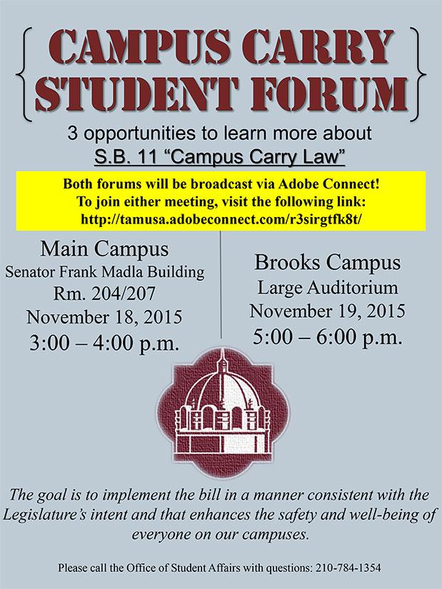 Student Forum Opportunities
