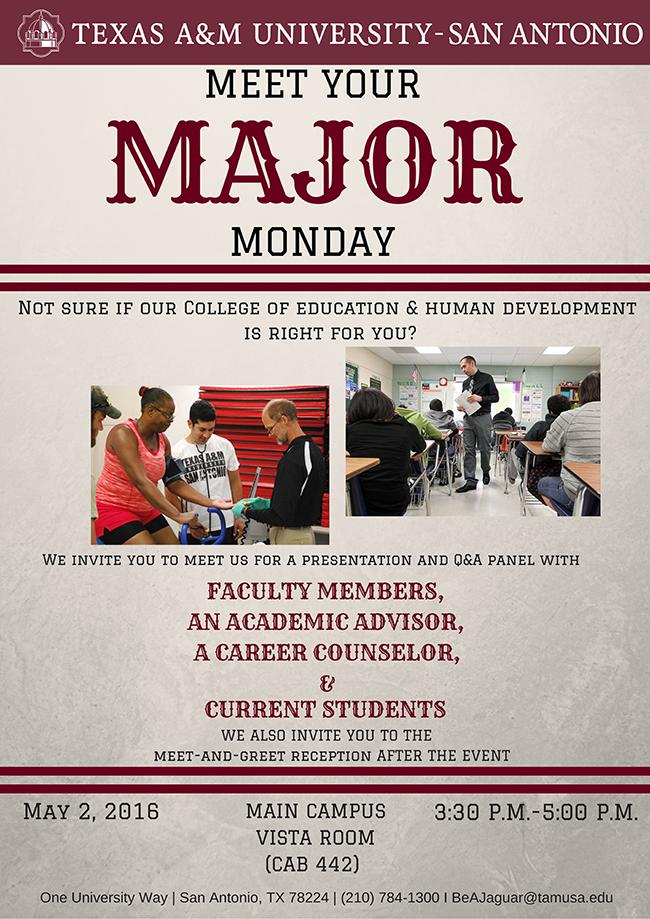 Meet Your Major Monday