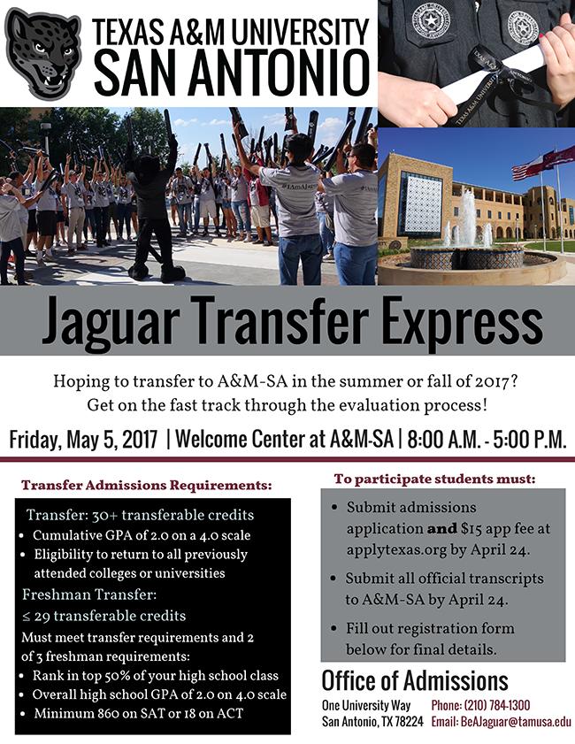 Jaguar Express Track Flyer