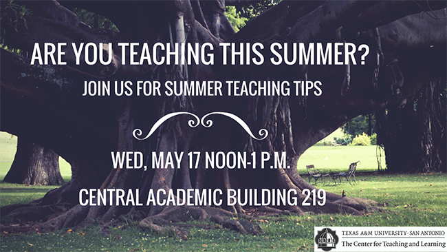 Make summer teaching less stressful and more successful