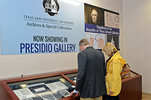 Texas A&M University-San Antonio opens doors to one-of-a-kind Library and Archives Collection in historic downtown building