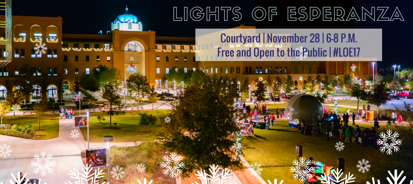 Lights of Esperanza - click here to visit facebook event page