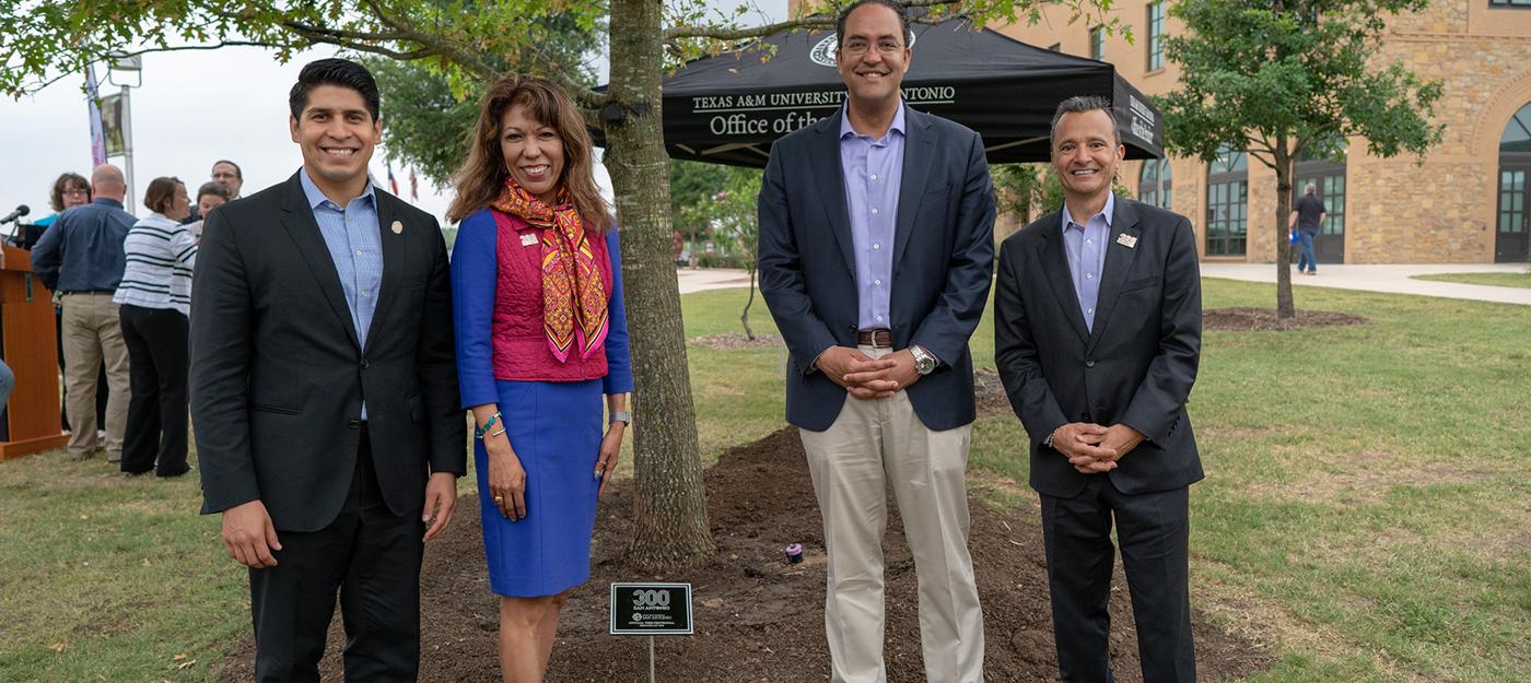 Tree-Centennial Event at Texas A&M University-San Antonio
