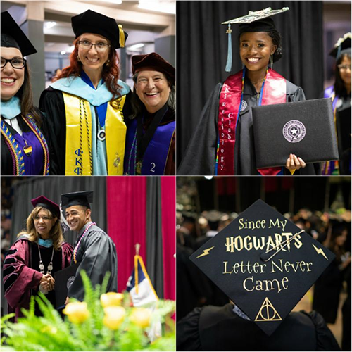 Spring 2018 Commencement Ceremony is largest in University History