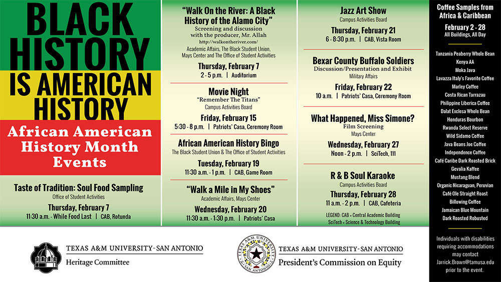 African American History Month Events