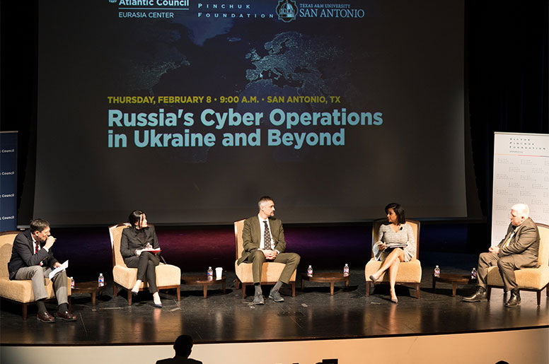 Atlantic Council hosts conference at A&M-SA on Russia's international cyber operations