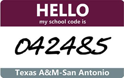School Code is 042485