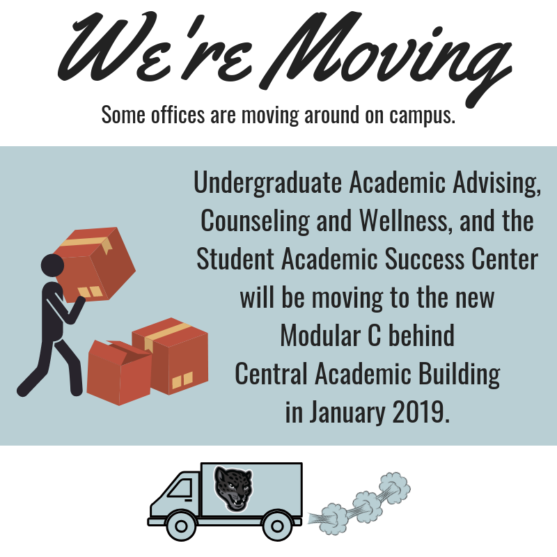 we are moving to Modular C in the Spring 2019 semester.